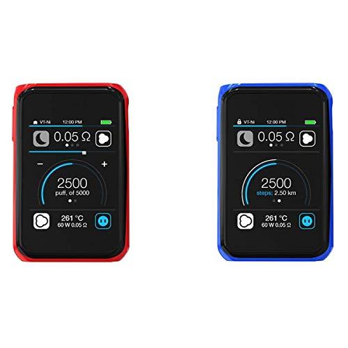 Joyetech Cuboid Pro 200W TC Mod Akkuträger, Stand der Technik, Touchscreen-Fähigkeit, Kein Nikotin (Rot)