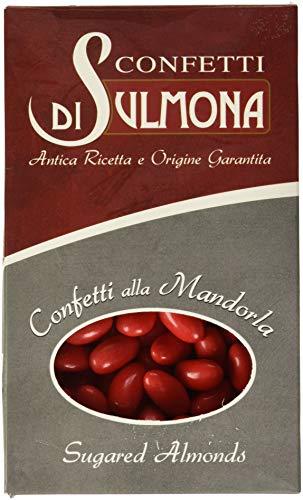 Confetti di Sulmona Classico con Mandorla Rosso - 500 gr