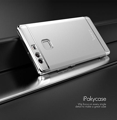 Original IPAKY Schutzhülle für Huawei Ascend P9 Ultra Slim 3 in 1 PC Hardcase Abdeckung ... Top Qualität