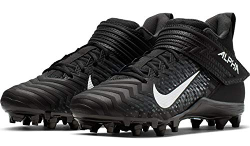 Nike Alpha Menace Varsity 2 Men's Football Cleat AQ8154 (13 D US, Black/White-Anthracite)
