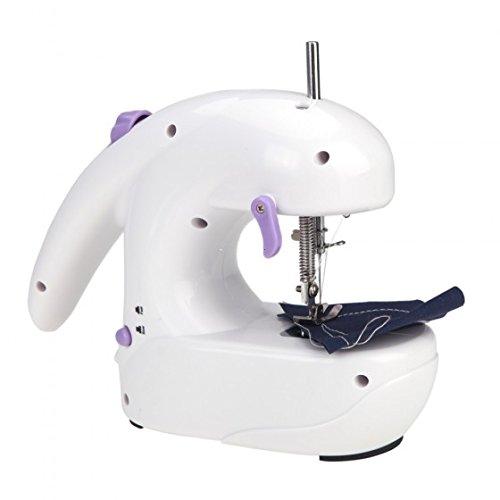 Kingzer Mini Electric Sewing Machine Batteries Operated Desktop Handheld Home Sartorius