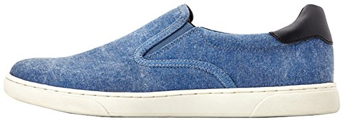 Vionic Men's Mott Brody Slip-on Sneaker with Concealed Orthotic Arch Support Navy Canvas 7 M US