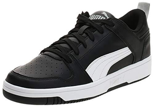 PUMA Unisex Rebound Layup Lo SL Sneaker, Black-White-High Rise, 42 EU
