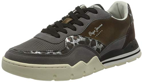 Pepe Jeans London Damen Siena SMART Sneaker, 489OZZY, 37 EU