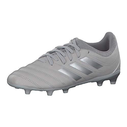 adidas Jungen Copa 20.3 Fg J Fussballschuh, Gray Two F17 / Silver Met./Solar Yellow, 38 2/3 EU