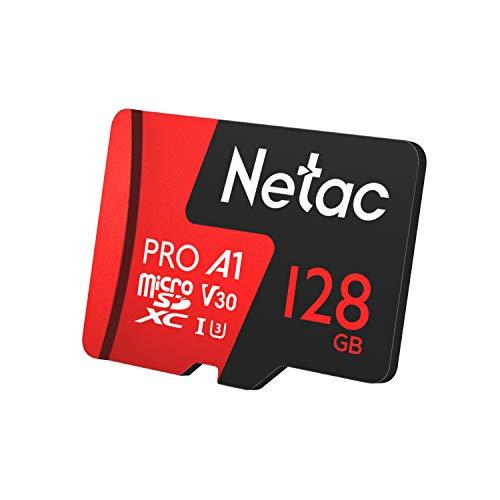 Cartão Memoria MicroSd 128GB Extreme Pro Netac c Adap