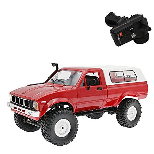 JINFENFG 4WD Vehículo Todo Terreno de Escalada 1:16 Camión de Control Remoto...