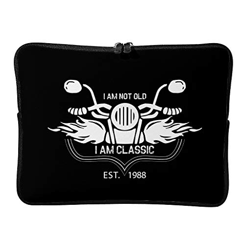 Laptop Bags I Am Not Old I Am Classic Slim Daily Waterproof Laptop Briefcase Suitable for Outdoor Use