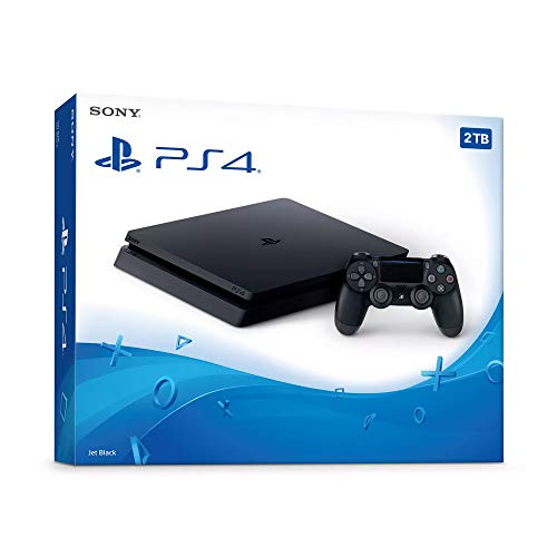 Seyted Playstation 4 Slim 2TB Console with Wireless Controller Bundle, PS4 Upgraded Console