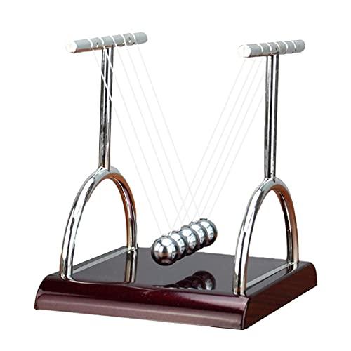 ニュートンのゆりかご バランスボール 振り子ボール 振り子 ニュートン スイング球 物理学 ゆりかご ストレス減らす 教育玩具 実験キット 教育玩具 卓上 フレーム インテリア オフィス 部屋飾り物