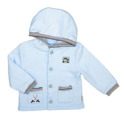 Sterntaler - Abrigo para niño azul, talla: 56cm (0-3 meses)