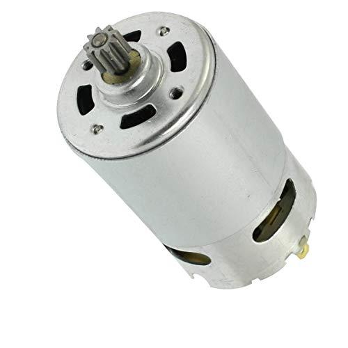 Aexit Power Tool 9,6V gezahnten DC 9-Getriebe Motor für elektrische Bohrmaschine, wiederaufladbar
