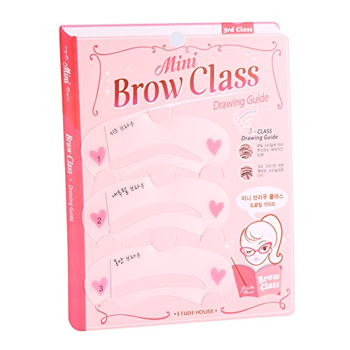 Solomi Eyebrow Card 3 PCS Smart Eyebrow Drawing Template Card Kit Outils de maquillage