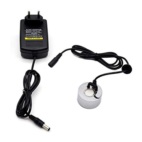 Ultraschall-Nebelmacher Nebler Hersteller, Brunnen Nebelmaschine Unterwasser Fogger Mister Zerstäuber Gartenteichvernebler Ohne LED-Licht