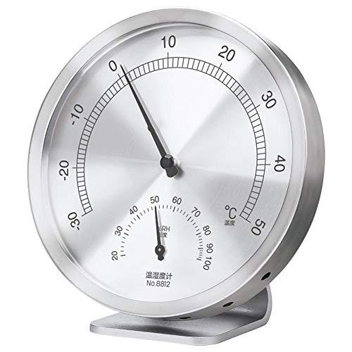 Sunneey Temperatur und Luftfeuchtigkeitsmesser für Innen und Außenbereich Thermometer für feuchte Umgebung Innen/Aussen für Terrasse, Zum Hängen oder Stellen