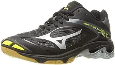 Mizuno Women's Wave Lighting Z3 Volleyball Shoe,Black/Silver,6 B US