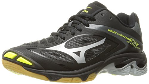 Mizuno Women's Wave Lighting Z3 Volleyball Shoe,Black/Silver,7.5 B US