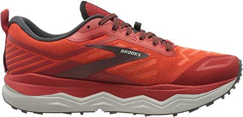 Brooks Herren Caldera 4 Laufschuh, Hochrisiko Rot/Ebenholz/Grau, 46 EU