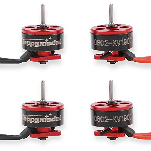 4pcs 0802 19000KV Brushless Motors 1S SE0802 Micro Drone Motor for Snapper7 Mobula6 Micro FPV Racing Drone