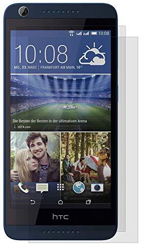 ENERGMiX Matt Folie kompatibel mit HTC Desire 626G (2 Stück) Schutzfolien Matt Folien Bildschirmfolien