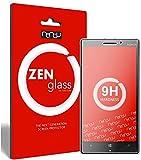 ZenGlass Nandu I Protector de Vidrio Flexible Compatible con Nokia Lumia 930 I Protector de Pantalla 9H I (más pequeño Que la Pantalla Curva)
