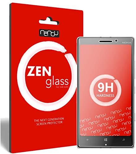 ZenGlass Flexible Glas-Folie kompatibel mit Nokia Lumia 930 Panzerfolie I Bildschirm-Schutzfolie 9H I (Kleiner Als Das Gewölbte Bildschirm)