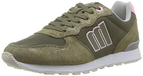 MTNG Attitude Damen 69859 Sneakers, Grün (Soft Met/Mesh Kaky C47275), 40 EU
