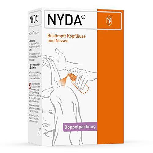 NYDA: Bekämpft Läuse und Nissen effektiv bei Kindern und Erwachsenen, 2x50 ml