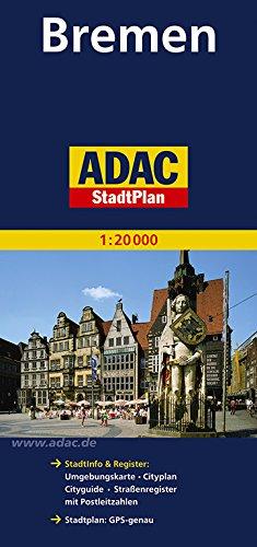 ADAC StadtPlan Bremen 1:20 000 (ADAC Stadtpläne)