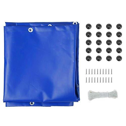 Luckxing Lona de protección contra la lluvia para remolque, lona de alto rendimiento, lona de remolque resistente a los rayos UV, para caravana, con ojales, para todo tipo de tiempo