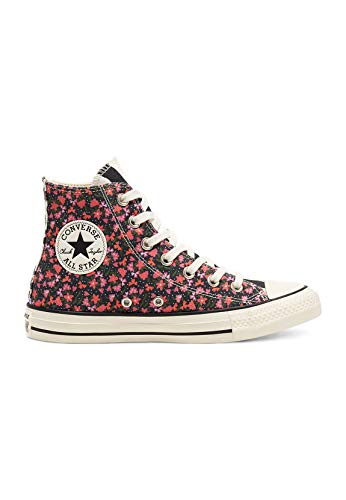 Converse Chucks CTAS HI 568294C Egret Pink Green, Schuhgröße:37.5