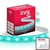 Innr Flex, 4m Color Striscia LED RGBW, Dimmerabile, Compatible with Philips Hue* & Echo Plus (Hub Richiesto) FL 130C