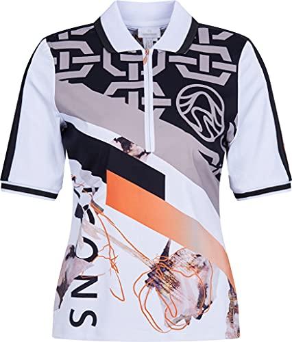 Sportalm Damen Poloshirt Größe XS Weiß (weiß)