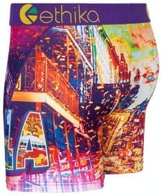 Ethika Mens Mid Boxer Briefs | Masked Up