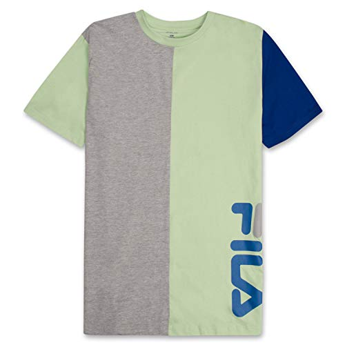 Fila Men's Big and Tall Short Sleeve T Shirt Big & Tall Crewneck Men Shirt