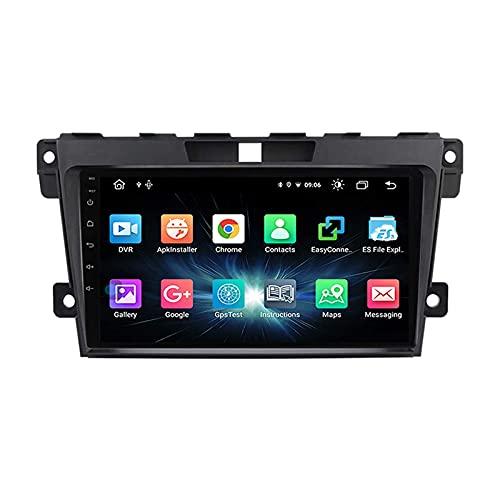 Android 10.0 Car Radio Stereo 2 DIN para M-azda CX7 CX-7 2008-2015 Navegación GPS IPS Pantalla táctil Reproductor Multimedia MP5 Receptor de Video con 4G WiFi SWC USB Carplay
