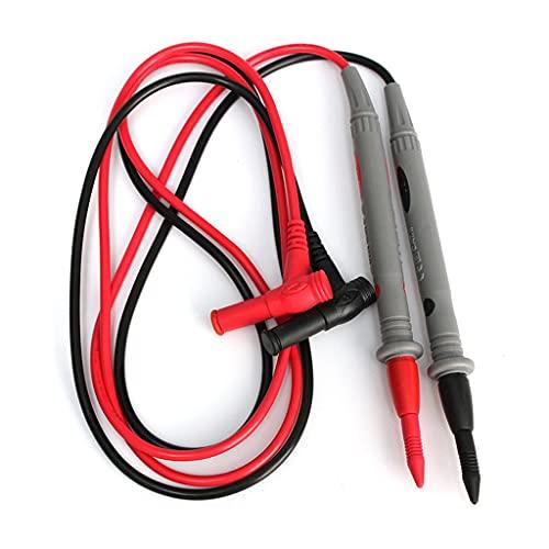 BGQFWB El más Nuevo 1000V 20A Sonda Universal Cables de Prueba Cable Multímetro Medidor Alambre Punta de Aguja Pluma para multímetro Digital Probador Fluke