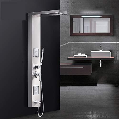 Timmaco Douchepaneel, douchesystemen, douchearmaturen, regendouche, douchearmaturen, set badkuip, waterval-douchewand, van roestvrij staal