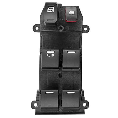 Lfldmj 35750-SWA-K01 para Honda Civic CR-V 2007-2011, botón de Interruptor de Control Maestro de Ventana de energía eléctrica, Lado del Conductor Delantero Izquierdo