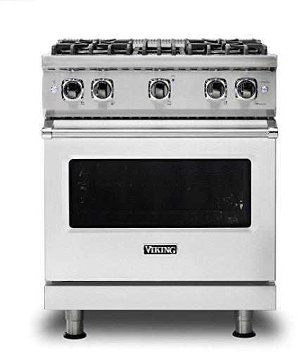 Viking VGR5304BSSLP Professional 5 Series Freestanding Gas Range,...