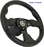 [DTi M10] DoradoTuning Volante Sportivo Ø 320mm Rally/Deriva/Gara/Universale/Nero...