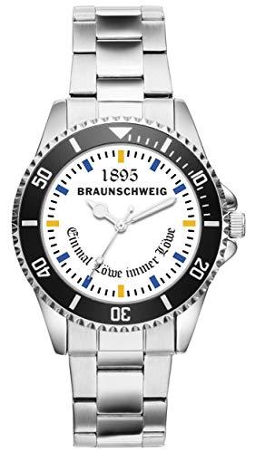 Braunschweig Geschenk Artikel Idee Fan Uhr 20044