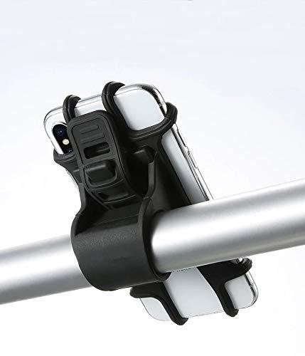 LYITP Handy-Halterung für den Fahrrad-Lenker - Befestigung Für Alle Smartphones & Fahrräder Mit 360 Drehen für 4,5-7,0 Zoll Smartphone