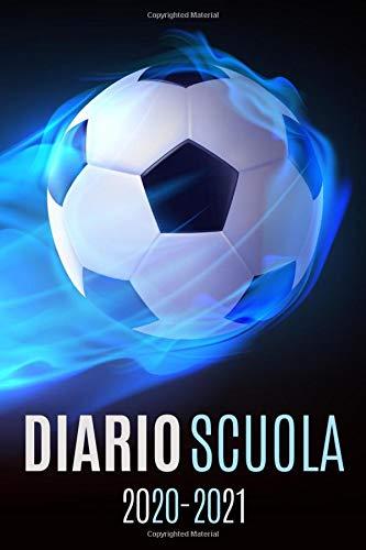 diario scuola 2020 2021 calcio: diario scolastico 2020 2021 calcio - agenda settimanale 2020 2021 - settembre 2020 2021 - calendario - materiale scolastico elementare superiori medie