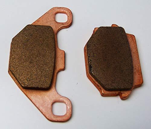 Sinter Bremsbeläge Ersatzteil für/kompatibel mit Dinli Centhor 565/700/800 High Performance Bremsklötze hinten