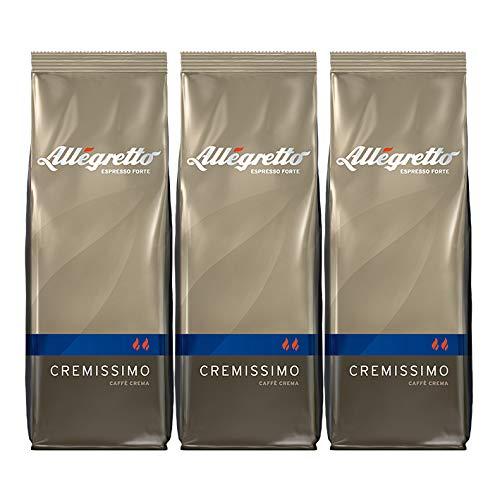 Allegretto Cremissimo, 500g, ganze Bohne, 3er Pack