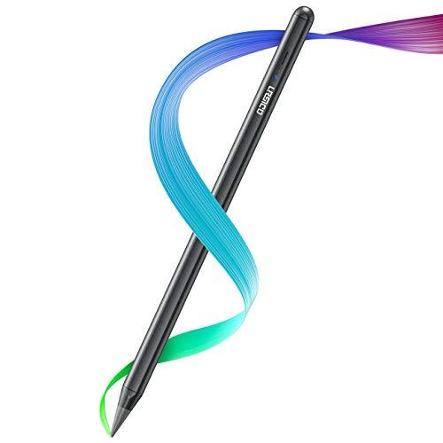 """URSICO Stylet pour Apple iPad 2018-2020, ipad Pencil avec Pointe inclinable, rejet de la Paume et adhésion magnétique, Compatible avec iPad 6/7/8, Air 3/4, iPad Mini 5, iPad Pro 11"""", iPad 12.9"""" 3/4"""