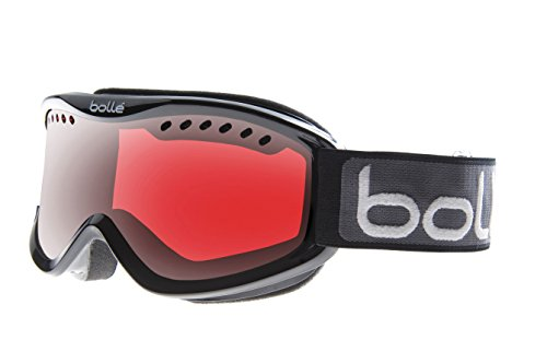 Bolle Carve Goggles, Black Green Fade, Green Emerald Lens