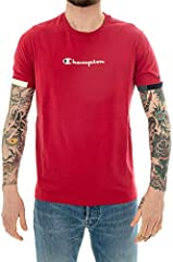 Camiseta Champion Deportiva con flocado Rojo para Hombre - MS038AMB