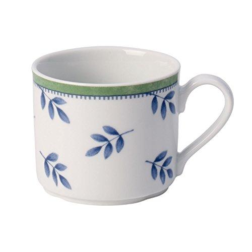 Villeroy & Boch Switch 3 Taza de café, 200 ml, Altura: 6,5 cm, Porcelana, Blanco/Azul/Verde